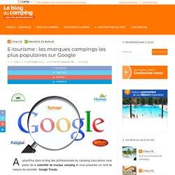 Marque camping, mesurez votre notoriété grâce à Google Trends