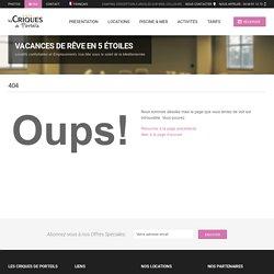 Les Criques de Porteils - L'Eau Bleue rien que pour vous ! - Site officiel du Camping des Criques de Porteils **** - Hôtellerie de Plein Air
