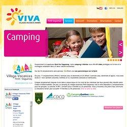 Camping au Saguenay › Village-Vacances Petit-Saguenay