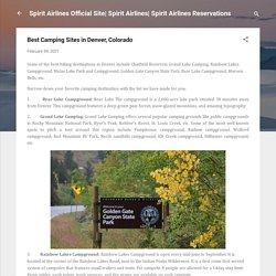Best Camping Sites in Denver, Colorado