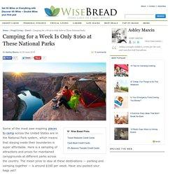 Camp at National Parks for $160 a Week: Yosemite, Grand Canyon, Big Bend, Acadia