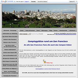 "Campingplätze nahe San Francisco und an Westküste der USA"""