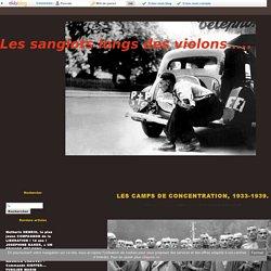 LES CAMPS DE CONCENTRATION, 1933-1939. -