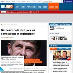 Des camps de la mort pour les homosexuels en Tchétchénie?