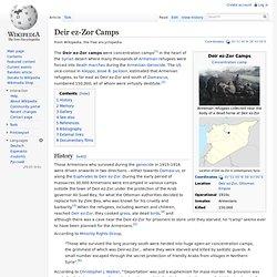 Deir ez-Zor Camps