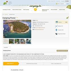 Campsite Pomer - Croatian Camping Union