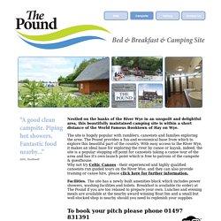 Best Campsites & Guest Houses near Clyro & Glasbury on Wye