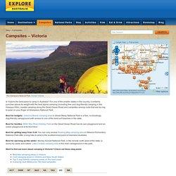 Campsites, Victoria - Explore Australia