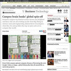 Campus brain banks' global spin-off