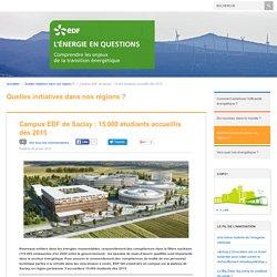 Campus EDF de Saclay : 15.000 étudiants accueillis dès 2015