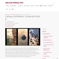 Campus Exhibition: Université Paris 8