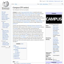 Campus (TV series) - Wikipedia
