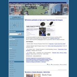 Campus Virtuel FLE - Audio Vidéo Blog