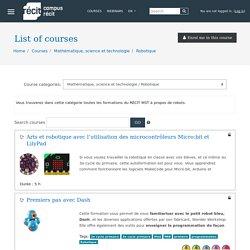 CampusRECIT: All courses