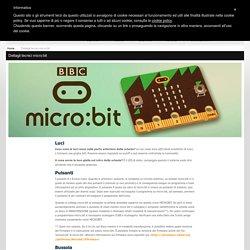 CAMPUSTORE - Dettagli tecnici micro:bit