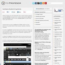 Camtasia Studio 8.0 gratuito