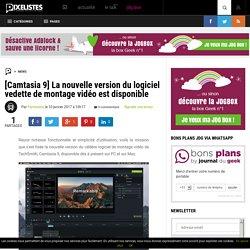 Camtasia 9 - La nouvelle version du logiciel vedette de montage vidéo