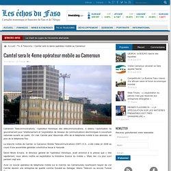 Camtel sera le 4eme opérateur mobile au Cameroun