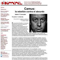 Camus: la rebelión contra el absurdo