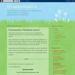 """Camusmat04 """"deuxième saison"""""""