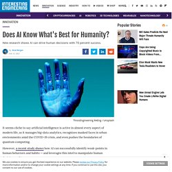 Can AI Decide - What's Best for Humanity?