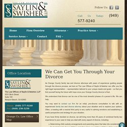 Do You Need A Divorce Lawyer in Orange County?