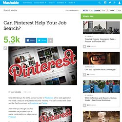 Can Pinterest Help Your Job Search? - Aurora