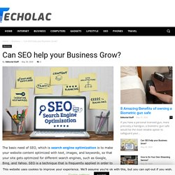 Can SEO help your Business Grow?