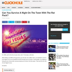 Can You Survive A Night On The Town With The Rat