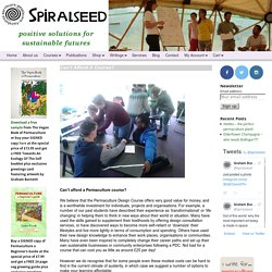 Can't Afford A Course? - Spiralseed