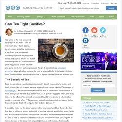 Can Tea Fight Cavities?