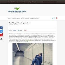 Can Viagra Cure Depression?