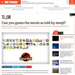 Can you guess the movie as told by emoji?
