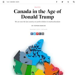 Canada in the Age of Donald Trump