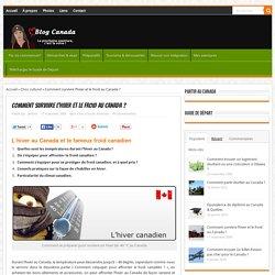 Hiver au Canada & froid canadien - Température et climat