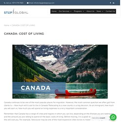 CANADA: COST OF LIVING