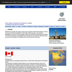 Canada - Country Profile - Nations Online