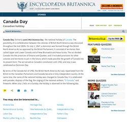 Canadian holiday
