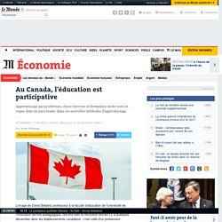 Au Canada, l'éducation est participative