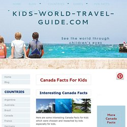 Canada Facts for Kids: Interesting and Fun Facts about Canada