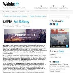 CANADA : Fort McMoney ← Webdoc.fr