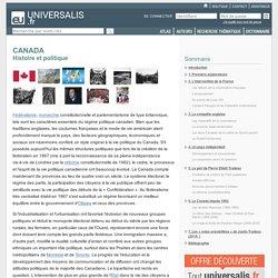 CANADA - Histoire et politique