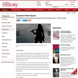 Canada's History - Canada's Pirate Queen