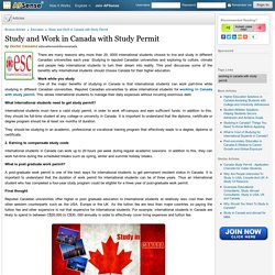 Study and Work in Canada with Study Permit by Doctor Cassama