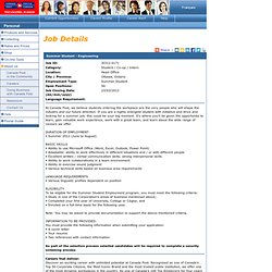 Canada Post - Careers - Job Details