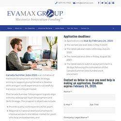 Canada Summer Jobs 2020 - EVAMAX Group