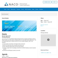 NACO Western Regional Angel Summit