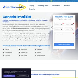 Canadian Email Address List