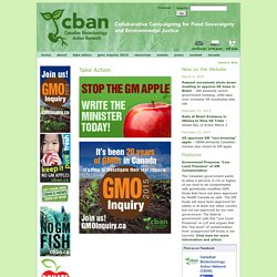 Canadian Biotechnology Action Network - CBAN