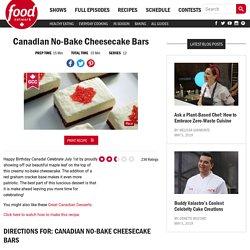 Canadian No-Bake Cheesecake Bars Recipes